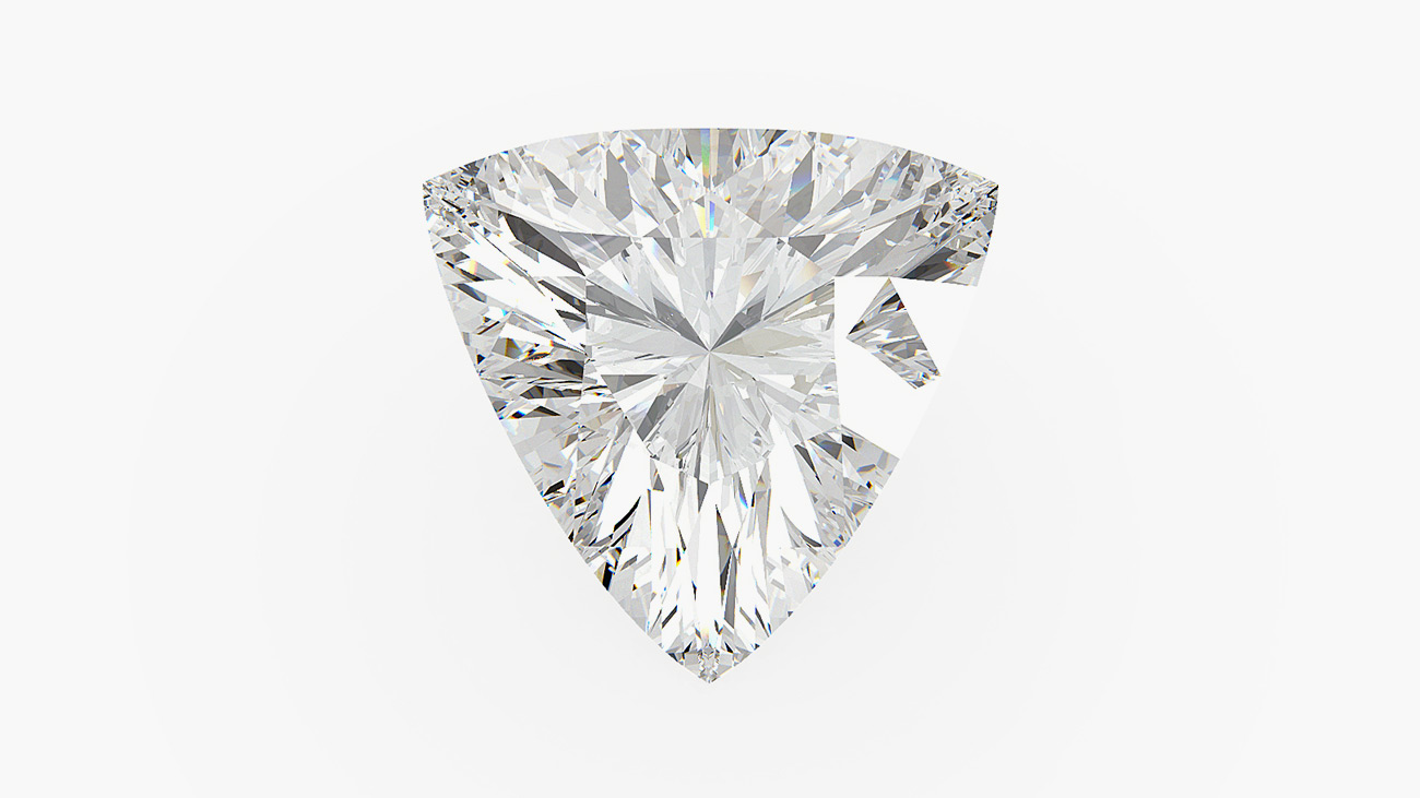 Trilliant Cut Diamond